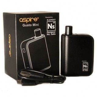 ASPIRE Gusto Mini Kit powerd by Element Ns20