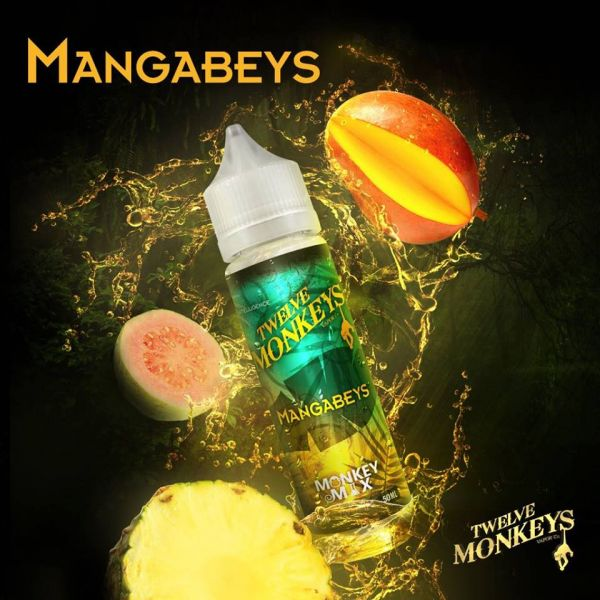 Mangabeys Shortfill 50ml - Twelve Monkeys