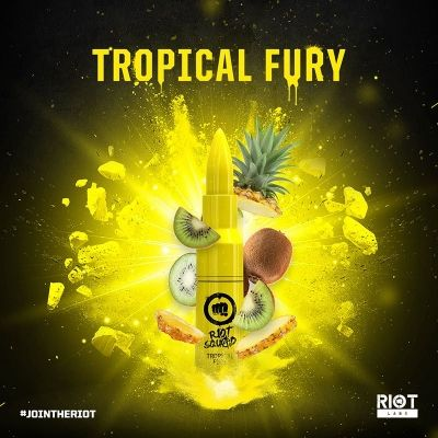 Riot Squad TROPICAL FURY 50ml OVERDOSED - E-Liquid made in UK ohne Nikotin